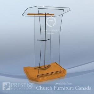 Glass Speaker Lectern